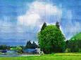 イラスト 絵画 トトロの森 壁紙1920x1280 壁紙館
