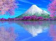 3dcg 春色の風景 壁紙1920x1200 壁紙館