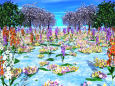 花の群生地