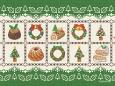 刺繍壁紙**クリスマス**