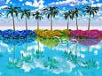 花の咲く島