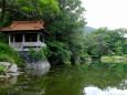 栗林公園の池