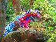 森の中に出現ドラエモンスター