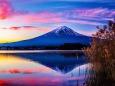 朝焼け 夕焼け 朝焼けの富士山 壁紙1920x1280 壁紙館