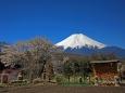 忍野の富士山