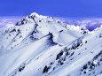 春の新雪~剱岳1991年