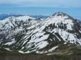 焼山と北アルプス