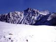 新雪の槍ヶ岳