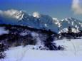 初冬の白馬三山~1980年