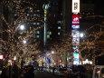 日本橋桜通りのイルミ