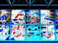 都市 街 室内 品川駅のステンドグラス 壁紙1920x1281 壁紙館
