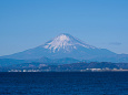 江の島からの富士山