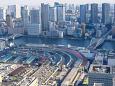 隅田川と築地市場