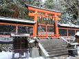 雪の高野山・御社