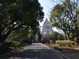 憲政記念公園から望む国会議事堂