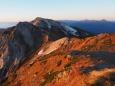 白馬岳からの展望