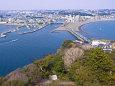 江の島から湘南の海