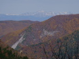 北沢峠からの北アルプス