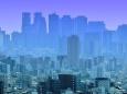 新宿を望む