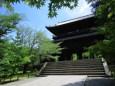初夏の南禅寺大門(三門)