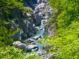 鬼怒川が生んだ奇岩の造形美