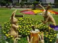 ウサギの餅つき