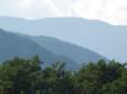夏の安曇野の山々