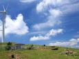 風車と牧場