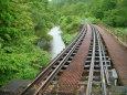 廃線に残る小さな橋梁