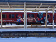 マジンガーZ ラッピング列車