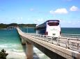 角島大橋とhyundaiユニバース