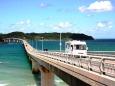 角島大橋とキャンピングカー