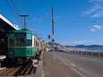 鎌倉高校前駅の江ノ電