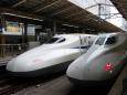 東海道新幹線のツーショット