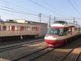 長野電鉄で活躍するロマンスカー